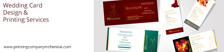wedding card design and printing services
